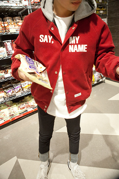 outer1071. Say My Name Hood Jumper [4color][SOLD OUT]
