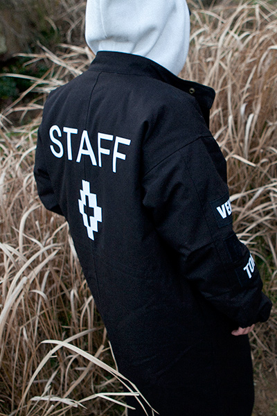 outer1070. Over Patch Feild Jacket [2color]