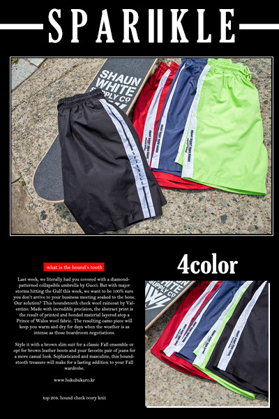 pants1121. colorado springs half pants [4color] (SOLD OUT)