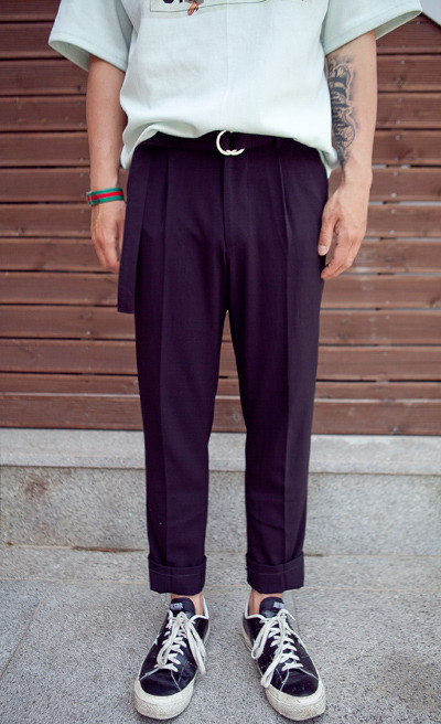 pants865. belt + slacks [3color] [SOLD OUT]