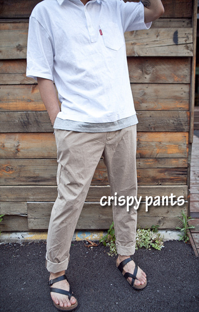 pants810. crispy loose pants [3color] [SOLD OUT]