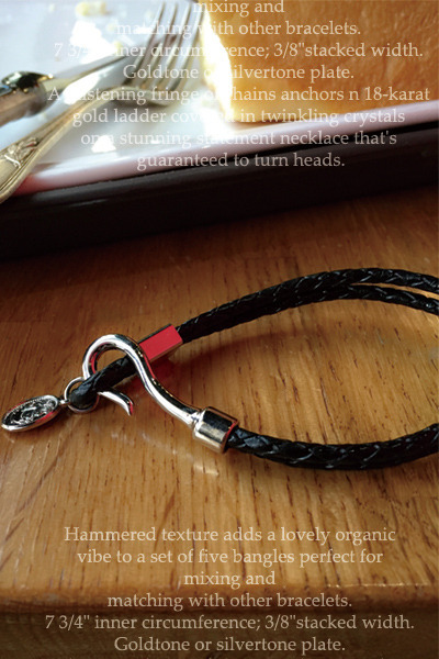 acc472. leather bangle [1type]