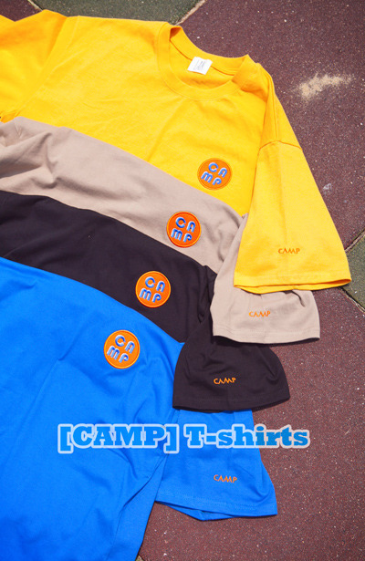 top1257. [CAMP] T-shirts [4color][SOLD OUT]
