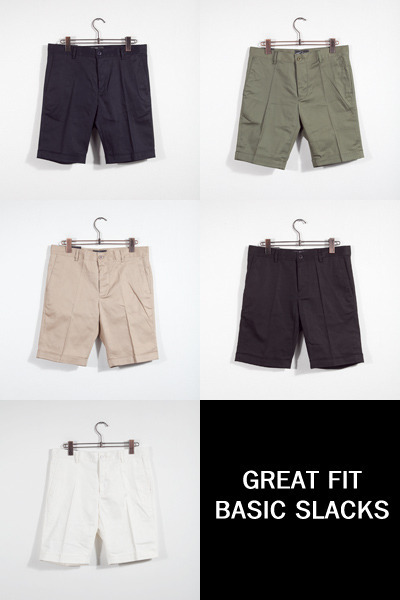 pants956. great fit basic slacks [5color]
