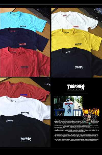 top1335. skate presents thrasher T-shirts [8color][SOLD OUT]