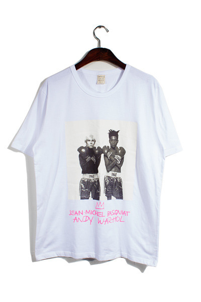 andy warhol t-shirts [2color][SOLD OUT]