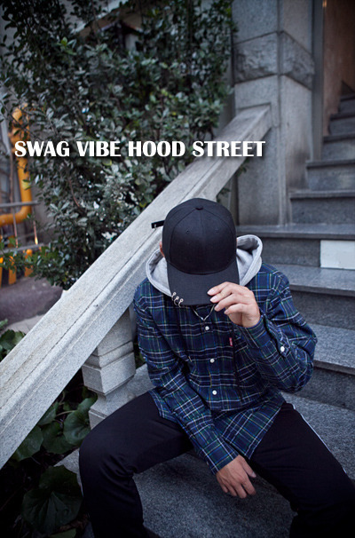 top1359. street street check hood [3color][SOLD OUT]