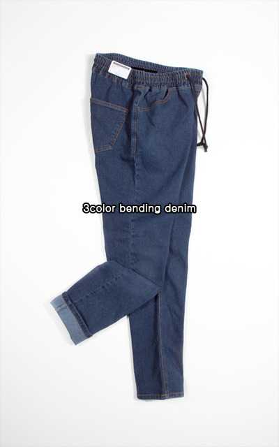 pants993. 3color bending denim [3color]