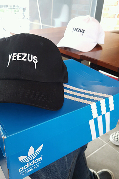 acc921. yeez roll down ball cap [2color][SOLD OUT]