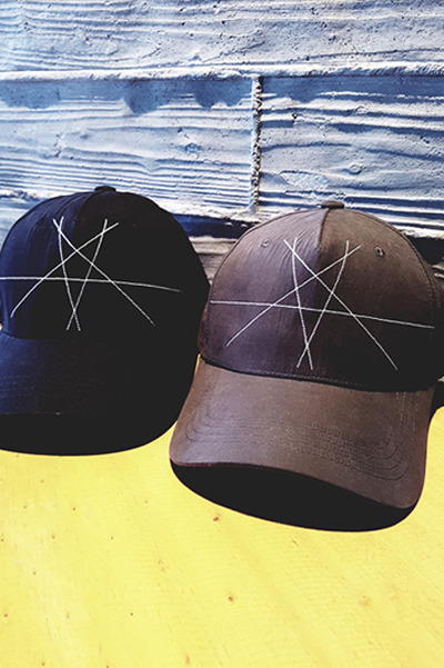 acc940. star needle ball cap [2color][SOLD OUT]