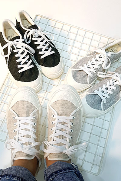 acc947. half circle sneakers [3color]