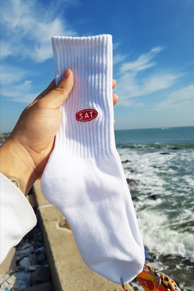 acc962. sat point socks