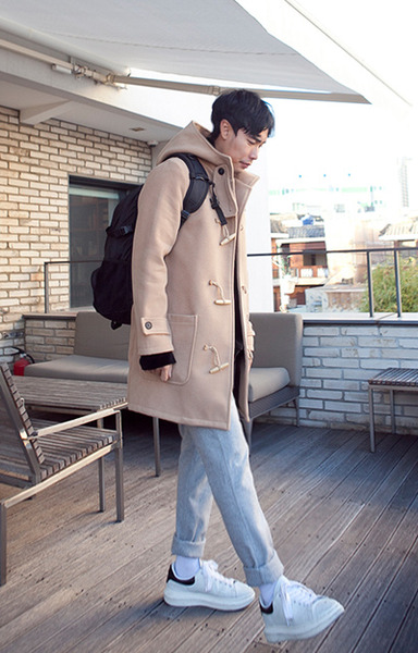outer1042. purf duffle coat [2color]