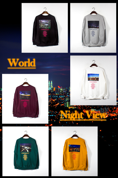 top1507. World Night View MTM [6color][SOLD OUT]