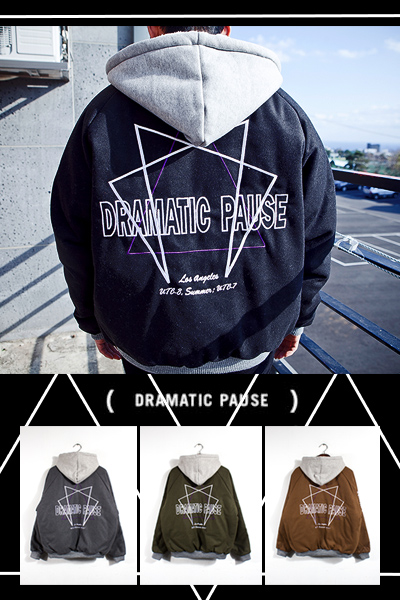 outer1063. Dramatic woolen hood jumper [4color]