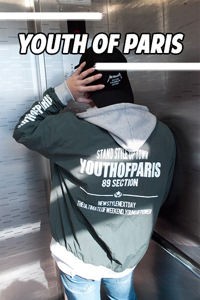 outer1090. Youth Of Paris Jumper [3color]