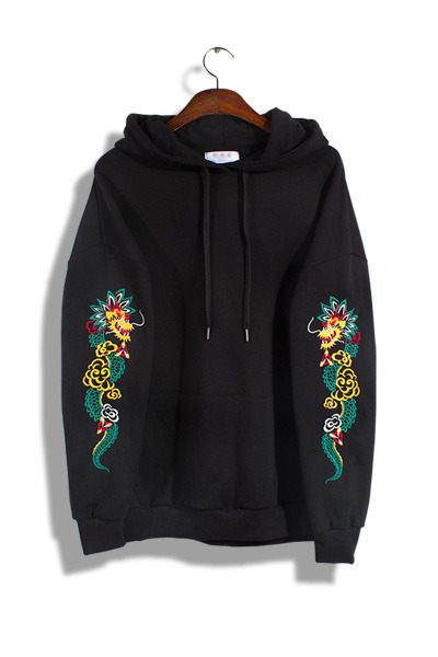 unique227. double dragon hood [3color]
