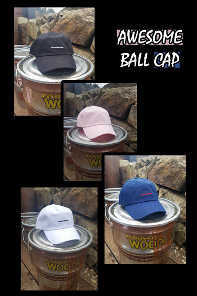 acc1026. awesome ball cap [4color]