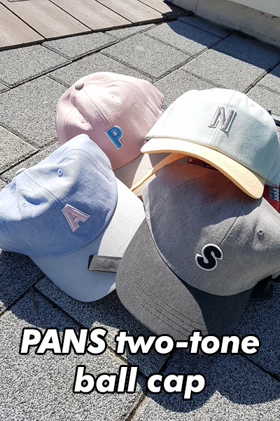 acc1019. PANS two-tone ball cap [4color]