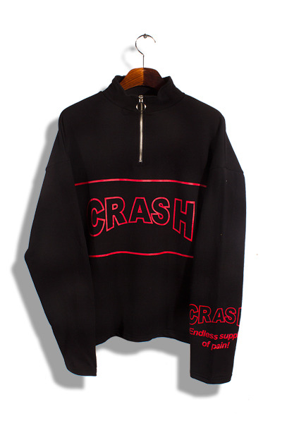 unique294. crash over half zip-up mtm [3color][SOLD OUT]