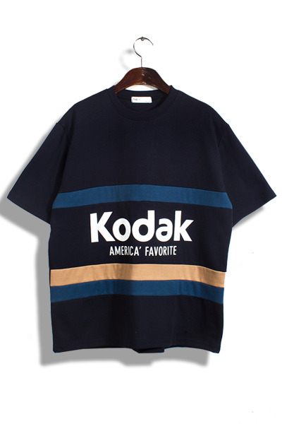unique305. kodak line printing T [4color]