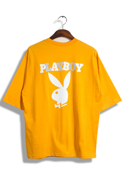 unique323. playboy rabbit T [3color]