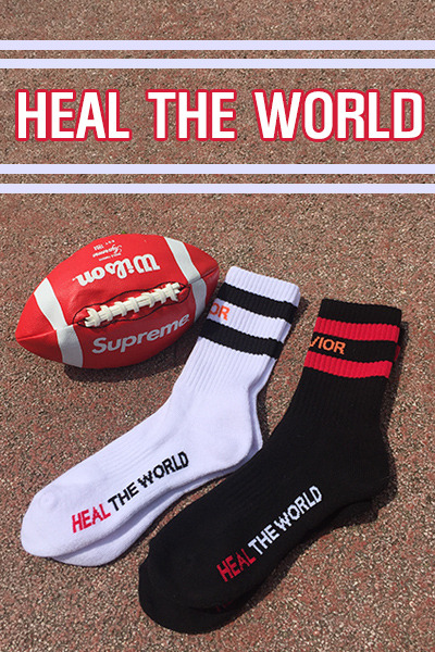 acc1016. Heal the world socks[SOLD OUT]