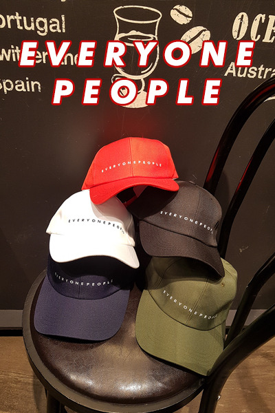 acc1067. everyone people ball cap [5color]