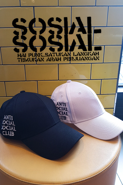 acc1057. anti social ball cap [2color][SOLD OUT]