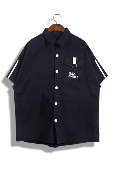 unique390. pocket ring shirt [3color]