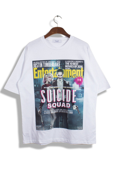unique475. Suiside Squad T [2color]