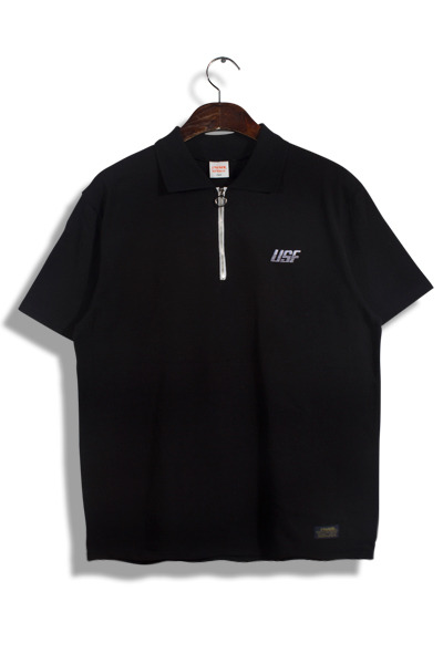 unique385. USF half zip-up T [4color]