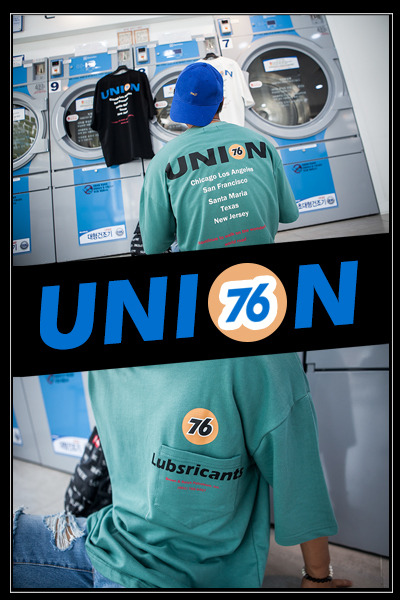 top1749. union number 76 T [3color] [SOLD OUT]