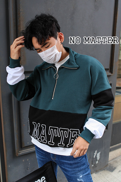 top1775. no matter line anorak [3color]