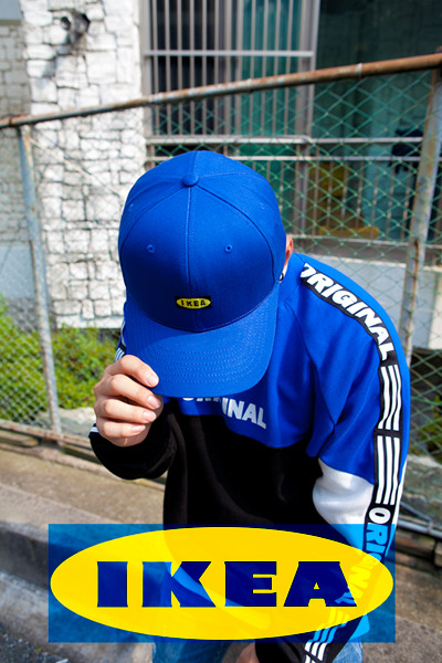 acc1109. IKEA logo ball cap [3color]