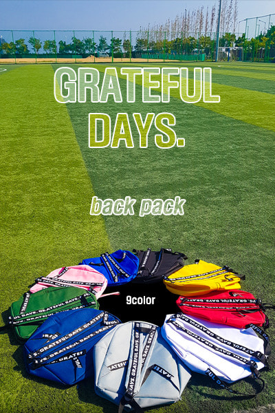 acc1128. grateful days back pack [9color]