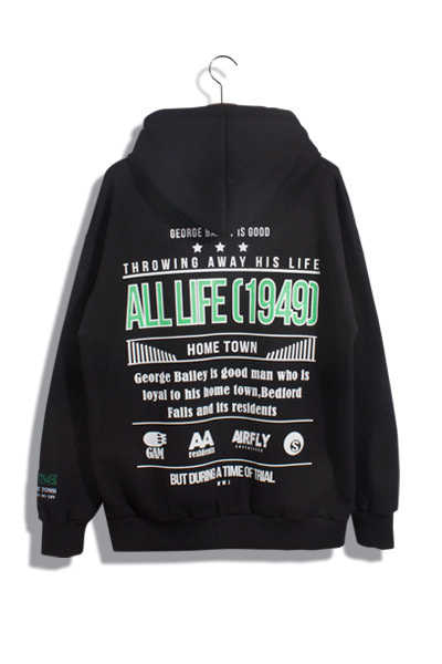 unique629. all lifre 1949 hood [3color] -기모제품-