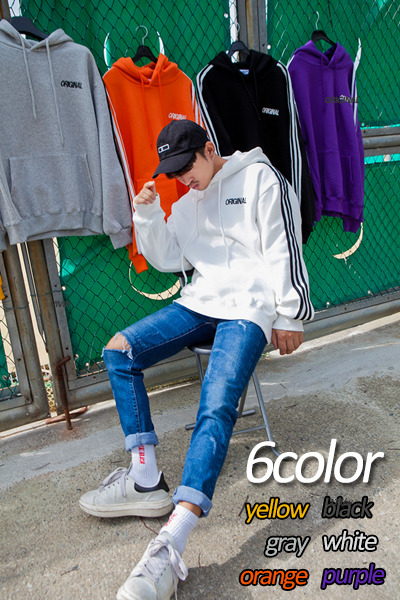 top1853. original colorful hood [6color]