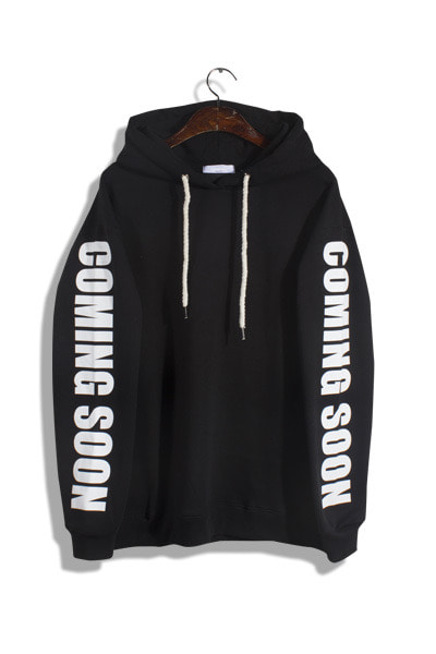 unique696. the commingsoon hood [4color]