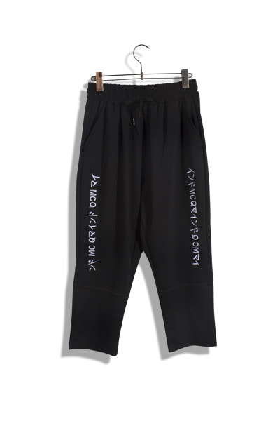 unique693. MCQ needle pants [2color]