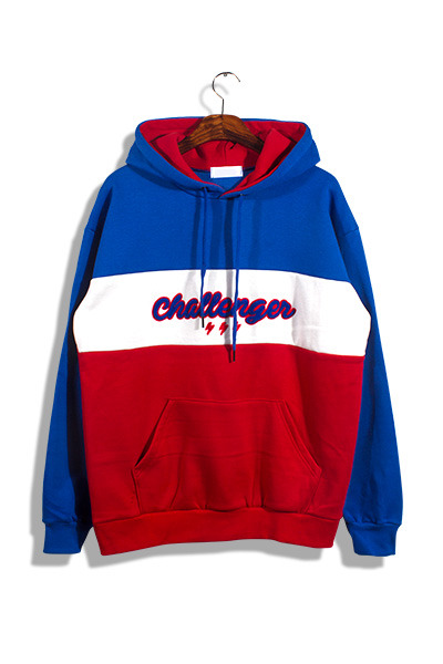 unique727. challenger coloration hood [3color]