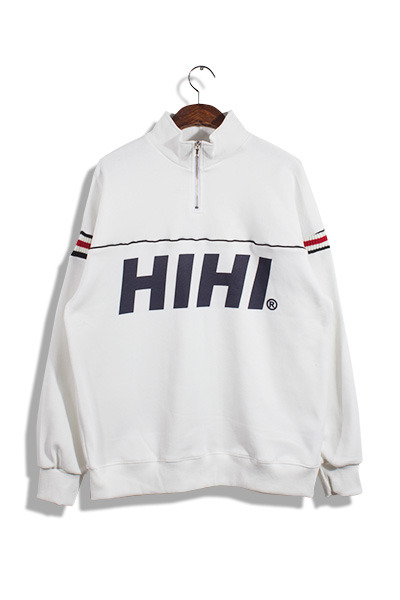 unique728. hi hi half zip-up mtm [3color]