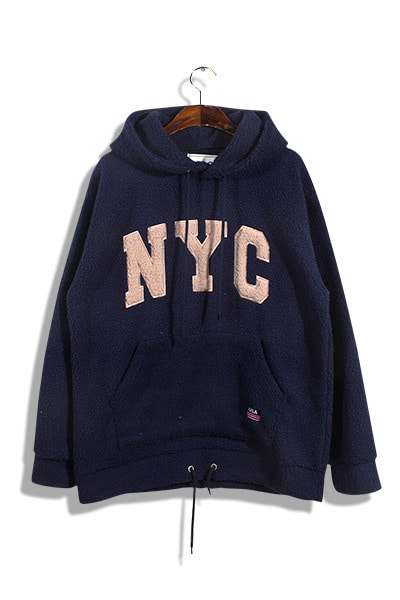 unique734. cloud wool nyc hood [2color][SOLD OUT]