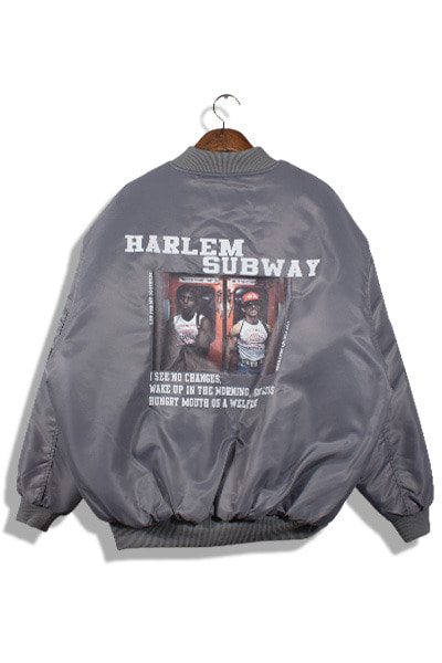 unique771. harlem subway jumper [2color][SOLD OUT]