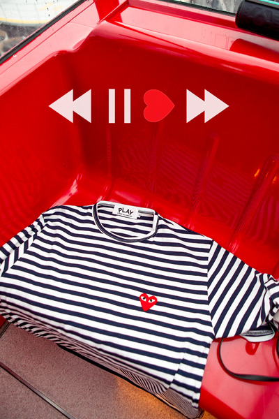 top1984. comme des stripe T [4color]