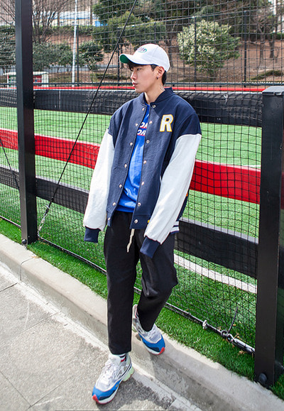 outer1215. central stadium jacket [2color]
