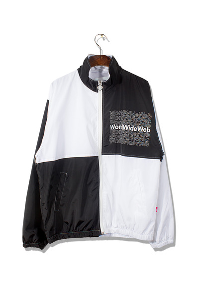 unique879. world wide web track jacket [3color]