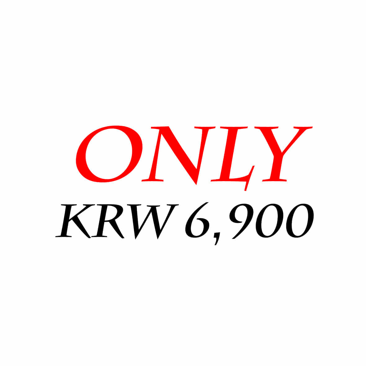 KRW 6900 DAY -당일출발-