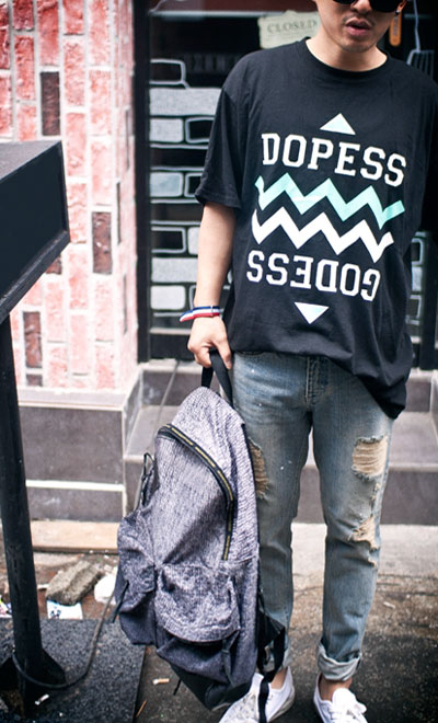 top296. DOPESS boxi Tee[2color][SOLD OUT]
