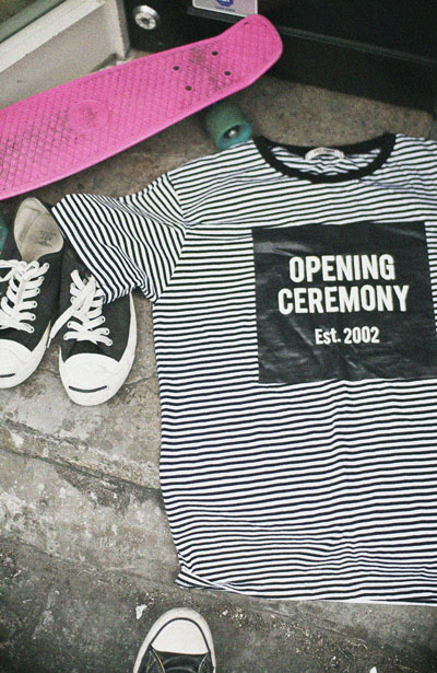 top361. OPENING stripe T-shirts [3coor][SOLD OUT]